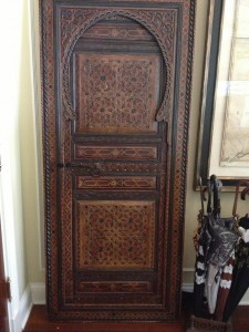 Antique door from Marrakesh, Morocco